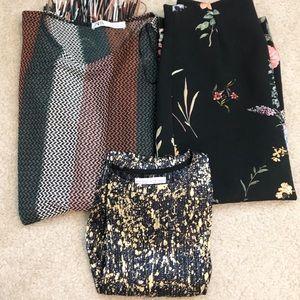 Zara 3 Piece Clothing Bundle Lot